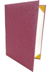 紅燦絲證書夾(玫瑰金)